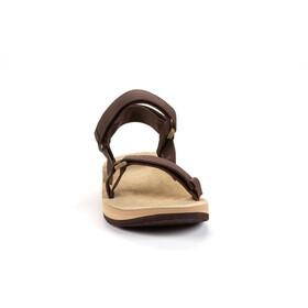 SOURCE Leather Urban Sandals Men brown